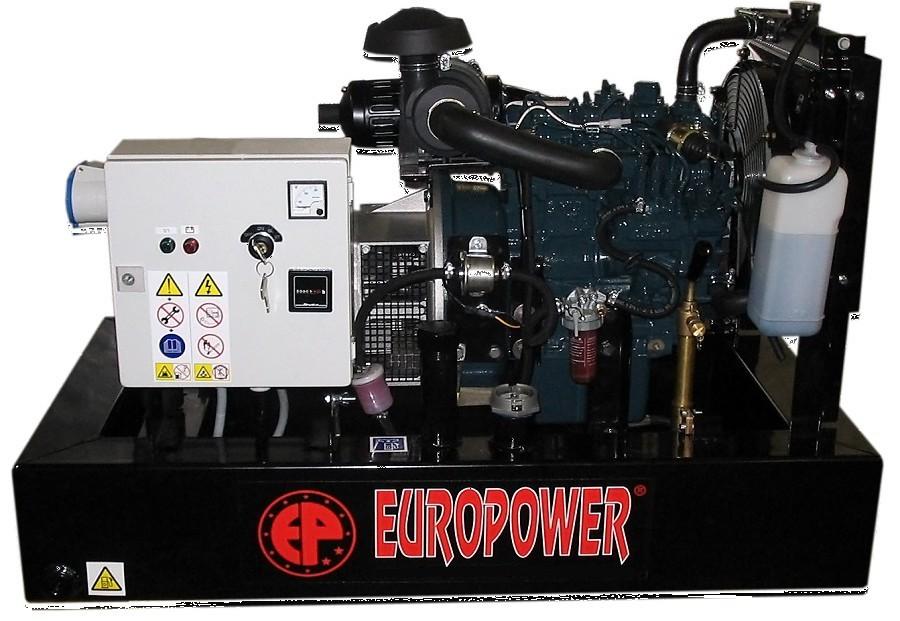 Генератор дизельный Europower EP 30 DE в Москве