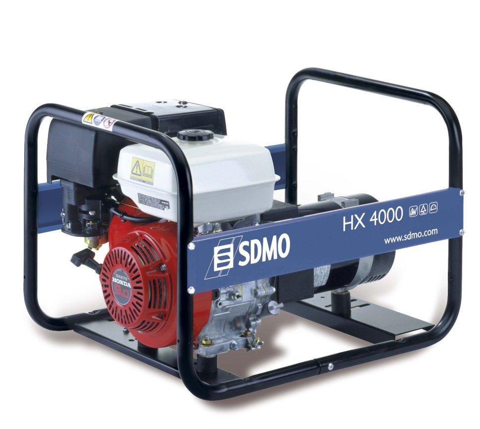 Генератор SDMO HX 4000-S в Москве